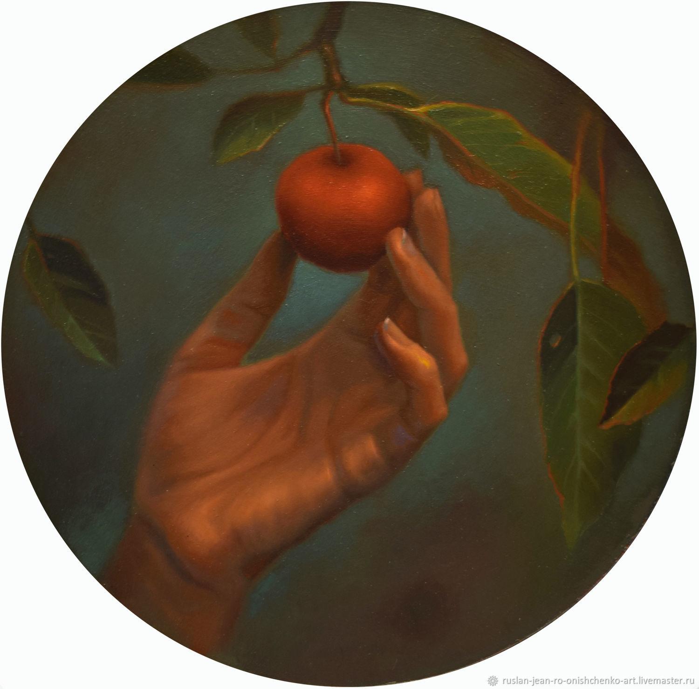 Картина маслом.Запретный плод ( Forbidden fruit), Картины, Севастополь,  Фото №1