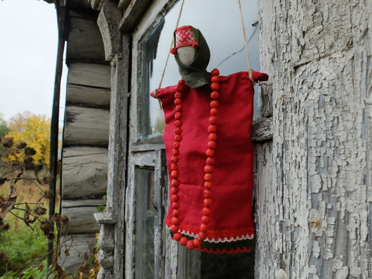 Народные куклы ручной работы. Ярмарка Мастеров - ручная работа. Купить Рябинка. Handmade. Рябина, оберег для дома, ягоды рябины