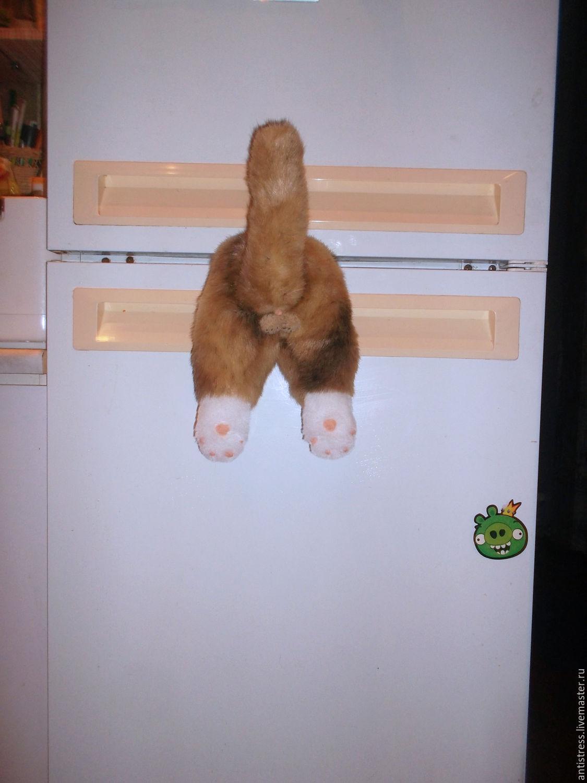Застрял кот магнит купить