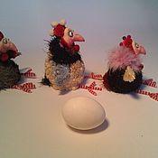 Куклы и игрушки ручной работы. Ярмарка Мастеров - ручная работа Курица или яйцо?. Handmade.