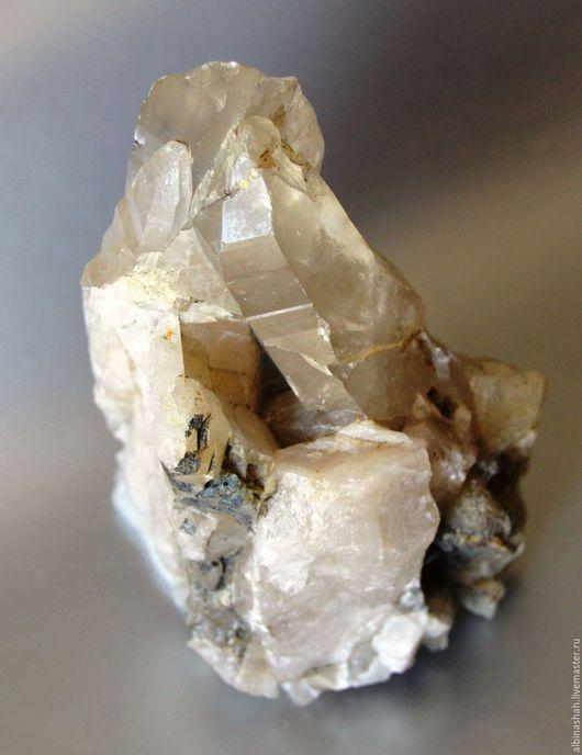 Для украшений ручной работы. Ярмарка Мастеров - ручная работа. Купить Раухтопаз, кристаллы. Handmade. Серый, натуральный камень