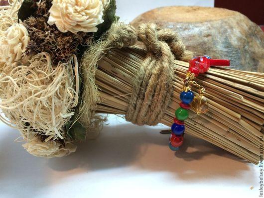 Браслеты ручной работы. Ярмарка Мастеров - ручная работа. Купить Браслет из натуральных камней Попугай. Handmade. Браслет, бохо