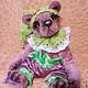 """Мишки Тедди ручной работы. Ярмарка Мастеров - ручная работа. Купить Мишка """"Арли"""". Handmade. Разноцветный, игрушка ручной работы"""
