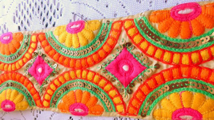 Bright Indian braid, Materials for dolls and toys, Odintsovo,  Фото №1