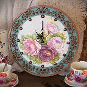"""Для дома и интерьера ручной работы. Ярмарка Мастеров - ручная работа Часы """"Шеби"""" старая медь. Handmade."""
