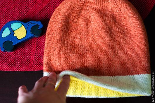 Шарфы и шарфики ручной работы. Ярмарка Мастеров - ручная работа. Купить снуд из мериноса, детский снуд, шапка. Handmade. Бирюзовый