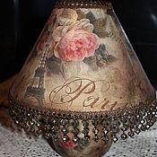 """Для дома и интерьера ручной работы. Ярмарка Мастеров - ручная работа Лампа """"Розы Парижа"""". Handmade."""