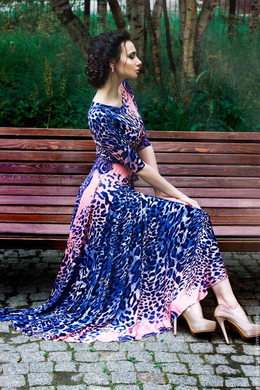 """Платья ручной работы. Ярмарка Мастеров - ручная работа. Купить Платье """"Legend. Pink panther"""". Handmade. Комбинированный, вечернее платье"""
