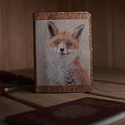 Канцелярские товары handmade. Livemaster - original item Passport cover.