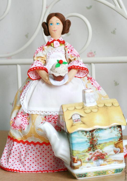 Кухня ручной работы. Ярмарка Мастеров - ручная работа. Купить Кукла Грелка на чайник. Handmade. Комбинированный, кукла интерьерная