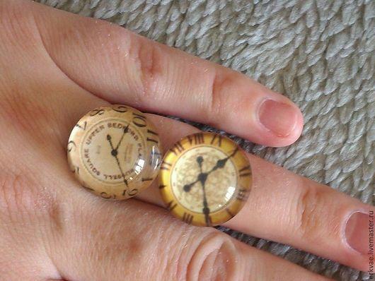 """Кольца ручной работы. Ярмарка Мастеров - ручная работа. Купить Кольца """"Тайны Времени"""". Handmade. Кольцо, объемное украшение"""