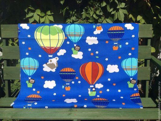 """Шитье ручной работы. Ярмарка Мастеров - ручная работа. Купить Ткань хлопок """"Детская"""". Handmade. Ткань, ткань для шитья, купон"""