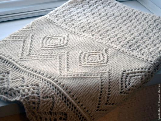 Пледы и одеяла ручной работы. Ярмарка Мастеров - ручная работа. Купить Детский плед. Handmade. Кремовый, одеяло детское