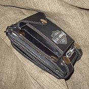 Сумки и аксессуары handmade. Livemaster - original item Purse Wallet for belt Harley Davidson. Handmade.