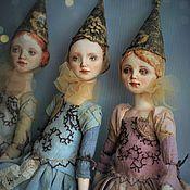 Куклы и игрушки ручной работы. Ярмарка Мастеров - ручная работа Подвижная кукла Флёр. Handmade.