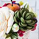 """Интерьерные композиции ручной работы. Цветочная композиция """"Осень"""". Tanya Flower. Ярмарка Мастеров. Композиция из цветов, осенние краски"""