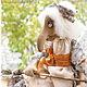 Коллекционные куклы ручной работы. Ярмарка Мастеров - ручная работа. Купить Баба Яга. Авторская текстильная кукла. Handmade.