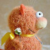 Куклы и игрушки ручной работы. Ярмарка Мастеров - ручная работа Вязаный кот Тимофей. Handmade.