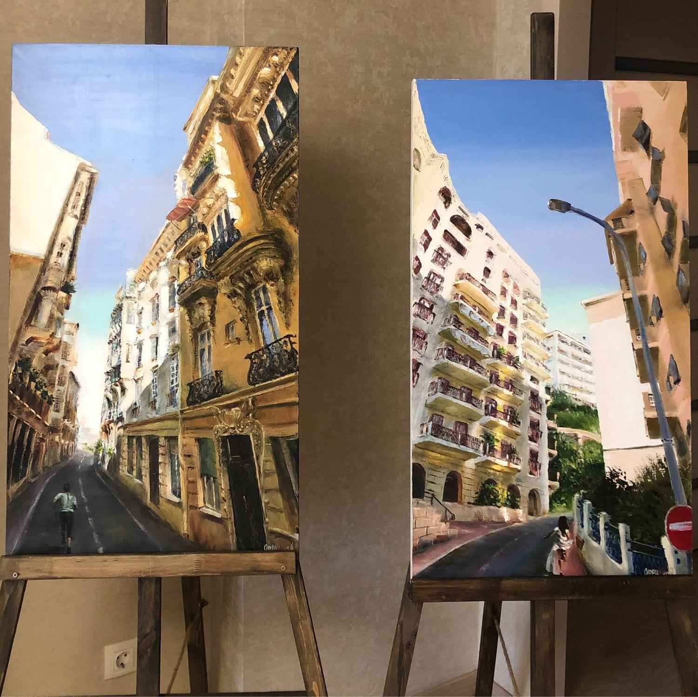 Картина , диптих – купить на Ярмарке Мастеров – JR5PCRU | Картины ...