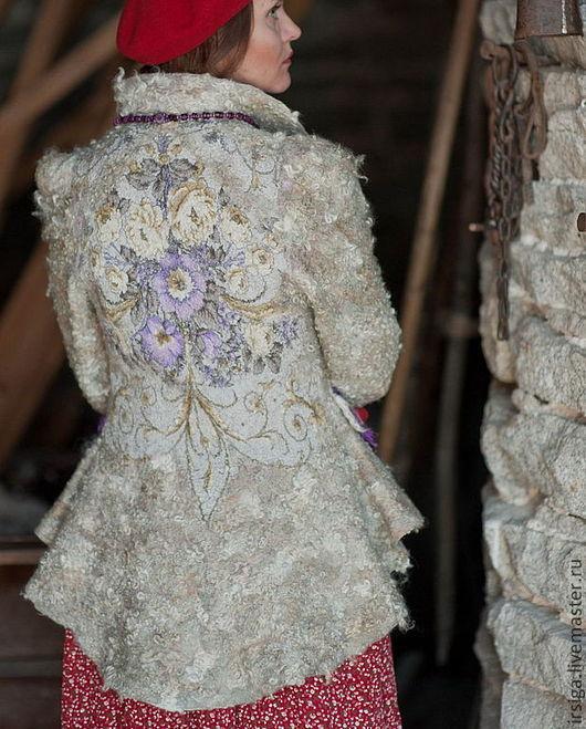 Пиджаки, жакеты ручной работы. Ярмарка Мастеров - ручная работа. Купить Шугай Душечка. Handmade. Серый, фольклор, ирина бобкова