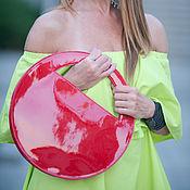 Сумки и аксессуары handmade. Livemaster - original item Red bag made of genuine leather - BA0868LDL. Handmade.