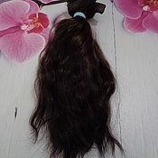 Материалы для творчества ручной работы. Ярмарка Мастеров - ручная работа Материалы: Волосы для кукол. Handmade.