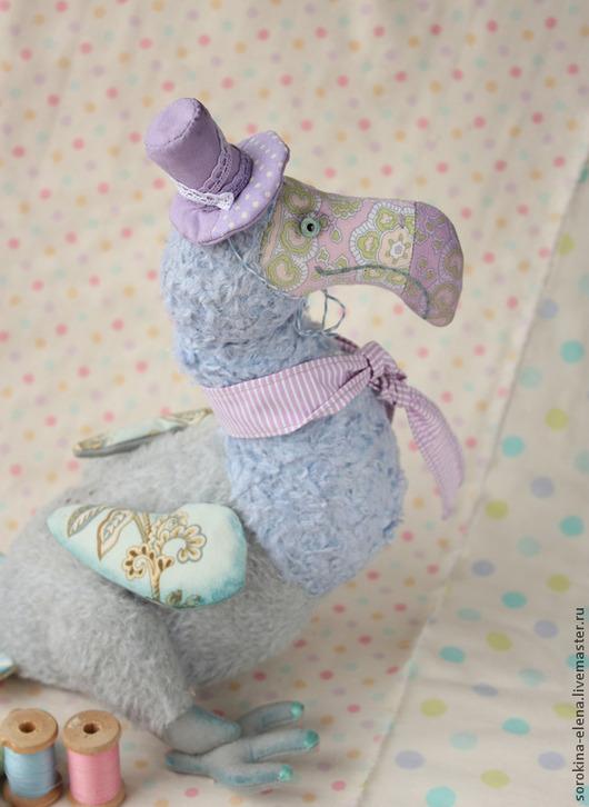 Мишки Тедди ручной работы. Ярмарка Мастеров - ручная работа. Купить Птица Дронт. Handmade. Разноцветный, мохер