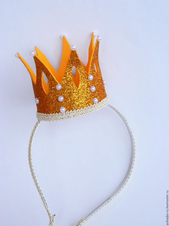 Как сделать корону своими руками из бумаги и других материалов 68