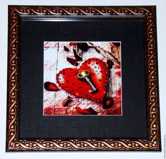 """Репродукции ручной работы. Ярмарка Мастеров - ручная работа. Купить картины """"валентинки"""". Handmade. Комбинированный, любовь"""