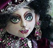 """Куклы и игрушки ручной работы. Ярмарка Мастеров - ручная работа Коллекционная текстильная кукла """" Прекрасная Гульчечек"""". Handmade."""
