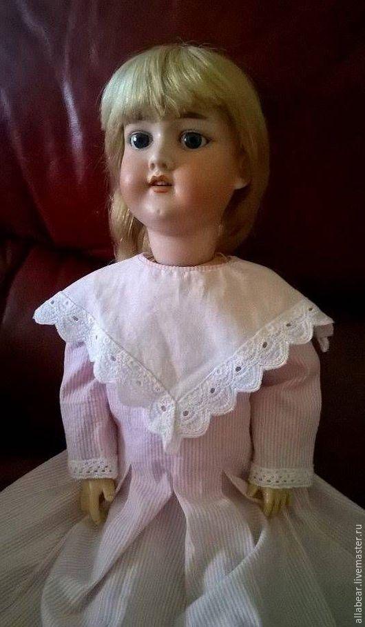 Одежда для кукол ручной работы. Ярмарка Мастеров - ручная работа. Купить Платье  для куклы № 2. Handmade. Антикварная кукла