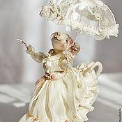 Куклы и игрушки ручной работы. Ярмарка Мастеров - ручная работа Мышка-мечтательница:). Handmade.