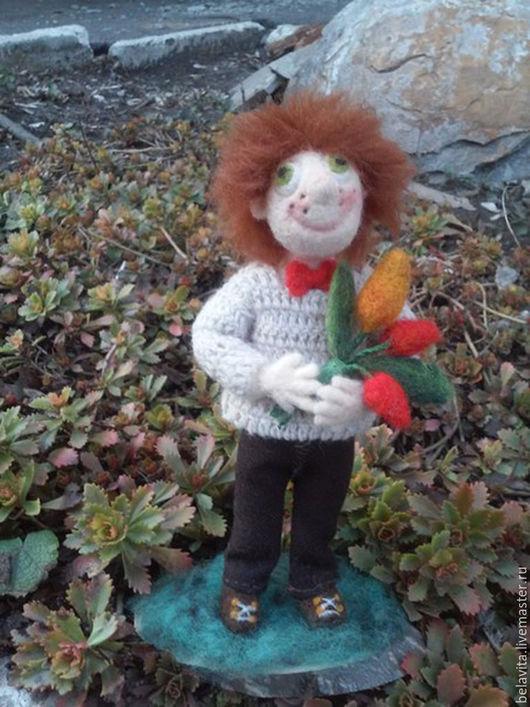 Коллекционные куклы ручной работы. Ярмарка Мастеров - ручная работа. Купить Влюбленный Рыжик. Handmade. Рыжий, авторская кукла