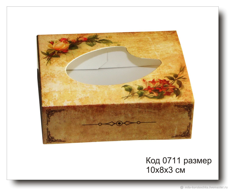 Коробочка для мыла код 0711 размер 10х8х3 см