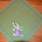 Для дома и интерьера handmade. Livemaster - original item Flax napkin