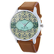 Дизайнерские наручные часы Brown_Классика