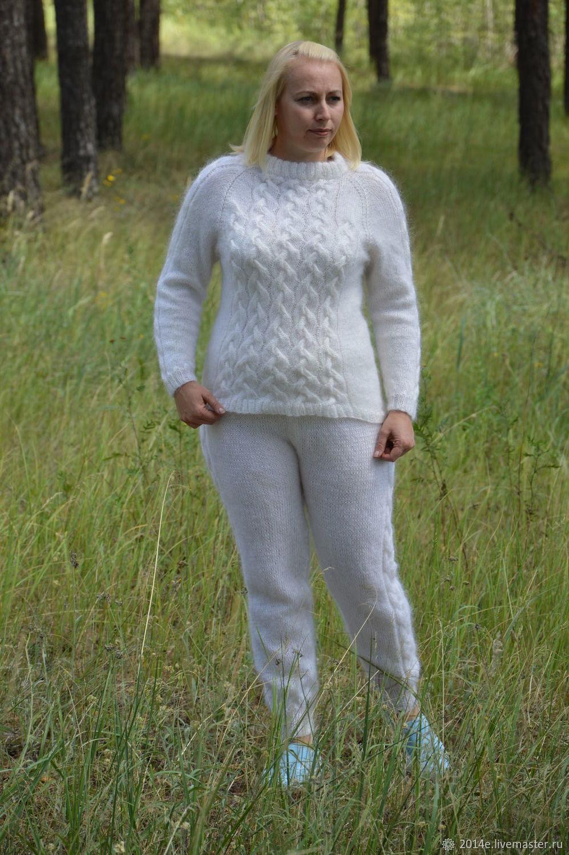 Костюм  брючный пуховый женский, Костюмы, Урюпинск,  Фото №1