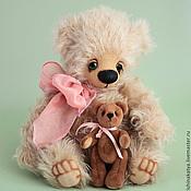"""Куклы и игрушки ручной работы. Ярмарка Мастеров - ручная работа Авторский коллекционный мишка тедди """"Стэйси"""". Handmade."""