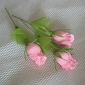 Цветы и флористика ручной работы. Ярмарка Мастеров - ручная работа Весенний цветок к 8 марта, подарок учителю, коллегам. Handmade.
