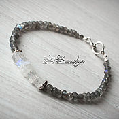 Украшения handmade. Livemaster - original item bracelet with labradorite