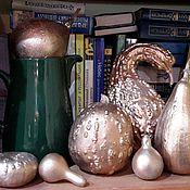 Для дома и интерьера ручной работы. Ярмарка Мастеров - ручная работа Тыквы декоративные. Handmade.