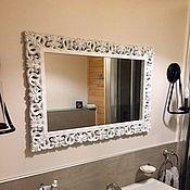Для дома и интерьера ручной работы. Ярмарка Мастеров - ручная работа Зеркало прованс в деревянной раме Z15 b. Handmade.