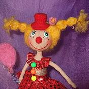 """Куклы и игрушки ручной работы. Ярмарка Мастеров - ручная работа Коллекционная куколка """" Первое апреля"""". Handmade."""