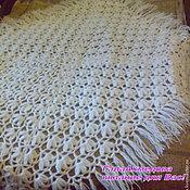 Для дома и интерьера handmade. Livemaster - original item Knitted plaid