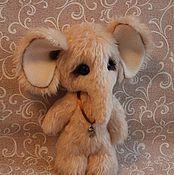 Куклы и игрушки ручной работы. Ярмарка Мастеров - ручная работа Слонёнок Любимчик. Handmade.
