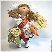 Куклы и игрушки ручной работы. Ярмарка Мастеров - ручная работа Кукла первоклашка. Подарок первоклашке к 1 сентября.. Handmade.