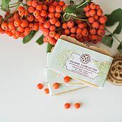 Косметика ручной работы handmade. Livemaster - original item Natural shampoo soap for dry and thin hair Rowan And ginger. Handmade.