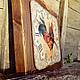 """Часы для дома ручной работы. Часы настенные """"Прованский петух"""". Алиса. Авторский декупаж.. Ярмарка Мастеров. Авторская ручная работа"""