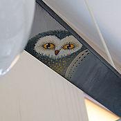 """Для дома и интерьера ручной работы. Ярмарка Мастеров - ручная работа Лампа """"Owl"""". Handmade."""