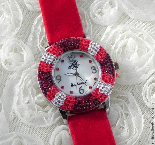 """Винтажные украшения. Ярмарка Мастеров - ручная работа. Купить Часы наручные """"Очарованный"""",Kirks Folly,США,в подарок,часики. Handmade."""